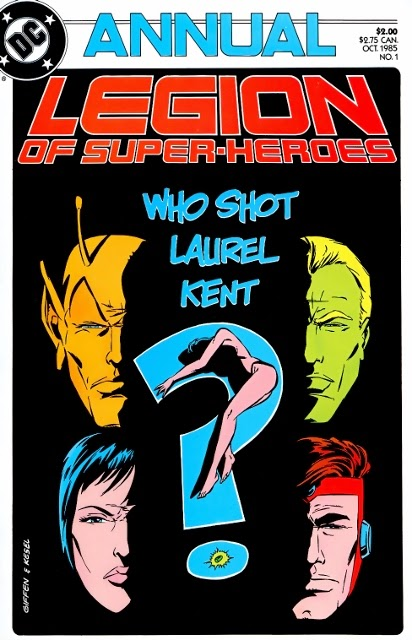 The Legion of Super Bloggers! : Legion of Super-Heroes Annual #1 (v2) (1985)