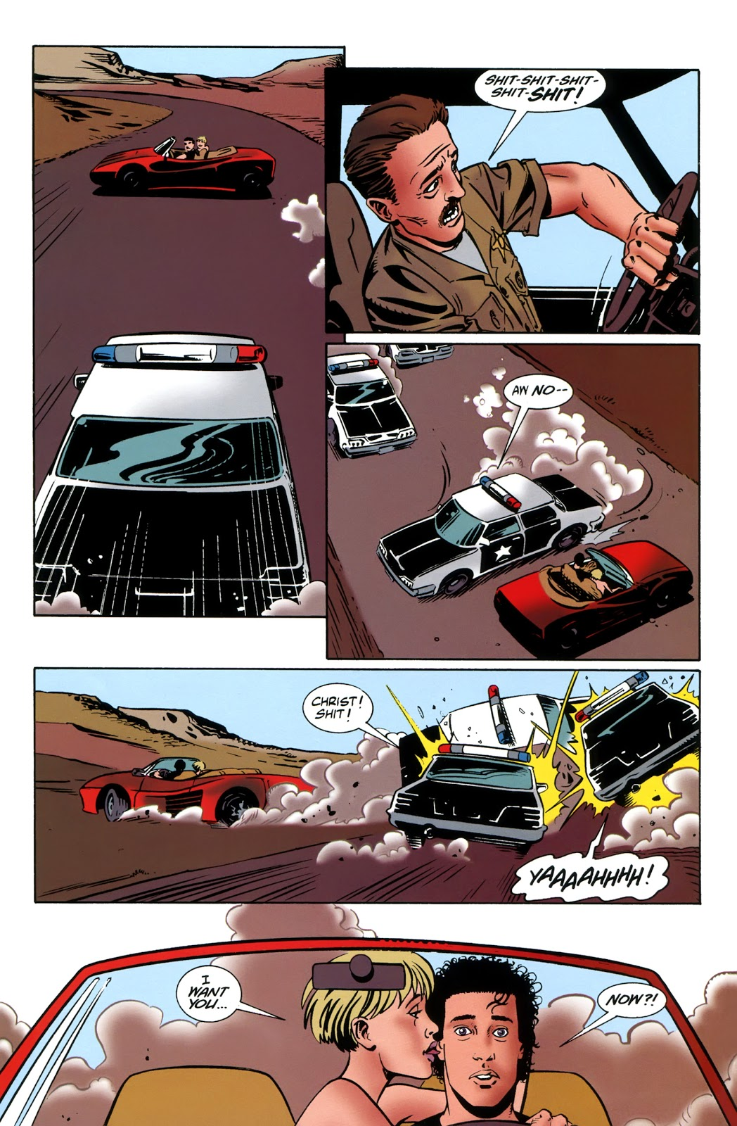 Read comic Preacher: Tall in the Saddle chapter Full